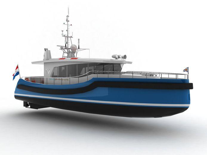 Het onderzoeksschip gaat varen voor het Zeeuwse waterschap Scheldestromen.