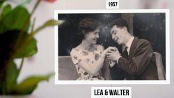 In 1957 spraken we nog over andere tijden. Lea en Walter over hun liefde...