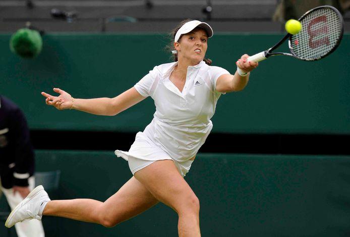 Laura Robson op Wimbledon in 2013.