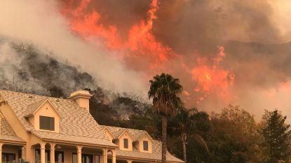 Californische 'Thomas Fire' raast verder: vuur na twee weken amper voor een derde ingedijkt