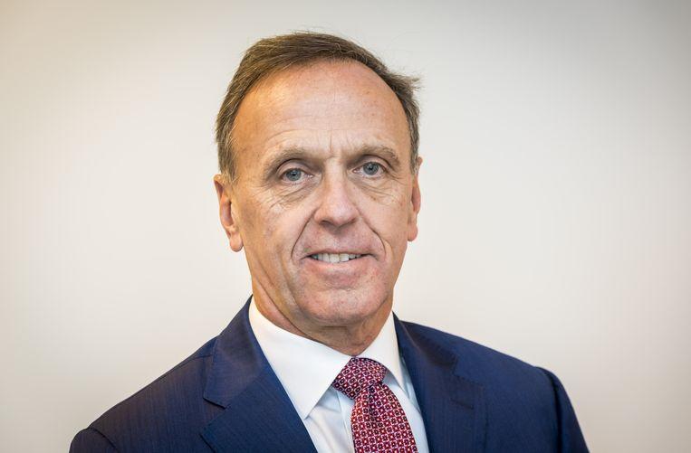 Peter Oosterveer, CEO van advies- en ingenieursonderneming Arcadis NV.  Beeld ANP XTRA, Lex van Lieshout