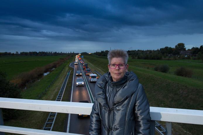Els Hollemans durft niet meer over de N50 te rijden. Foto: Freddy Schinkel