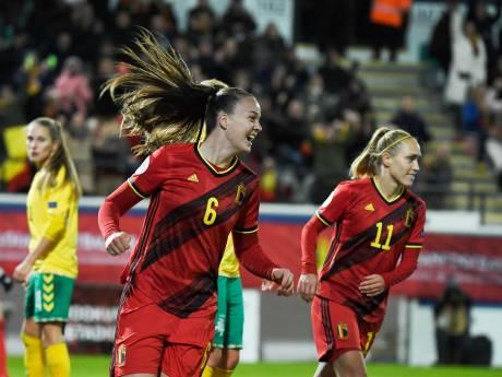 Les Red Flames en démonstration face à la Lituanie, De Caigny signe un quintuplé