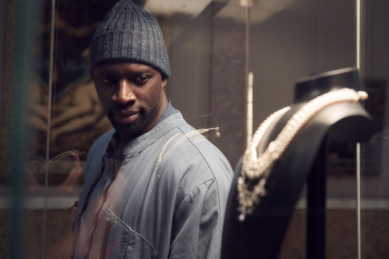 Omar Sy als Assane Diop in 'Lupin'. Beeld Netflix