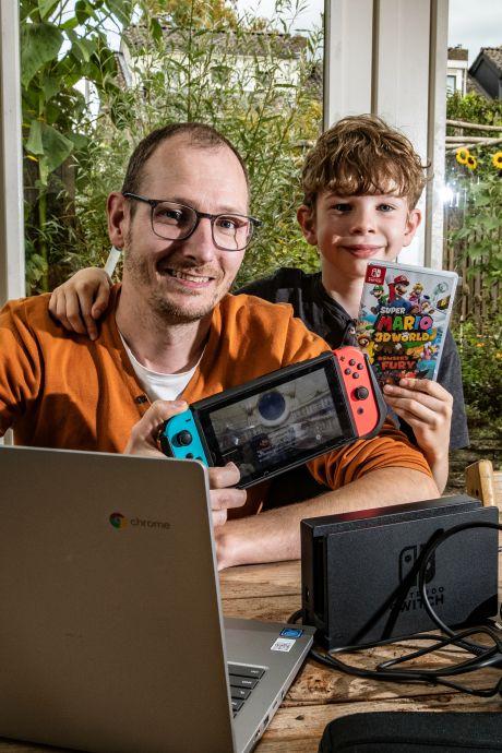 Mark uit Deventer zet online ruilhandel in games op: 'Bespaart ouders en kind veel geld'