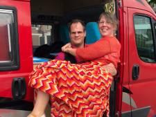 Trouwen in coronatijd: Anouk en Wilco maakten er het beste van