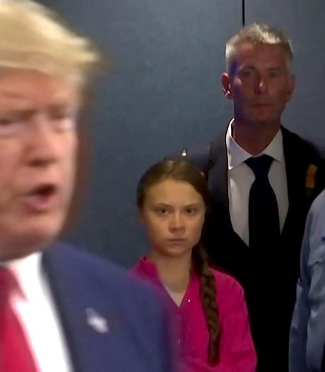 """""""Chill, Greta""""? Greta Thunberg mouche malicieusement Donald Trump"""