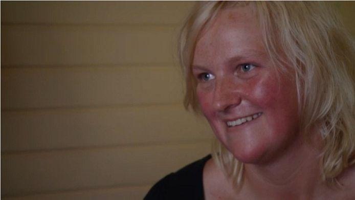 Boerin Henrieke uit Boer zoekt Vrouw. foto KRO