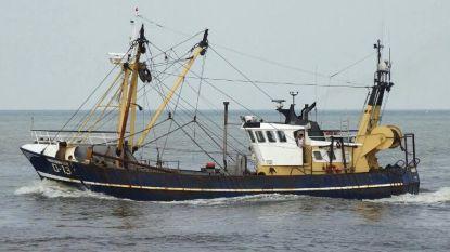 Vissers net op tijd uit zee geplukt