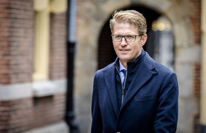 Minister Sander Dekker voor Rechtsbescherming (VVD): ,,Ik begrijp dat mensen hier hele heftige gevoelens bij hebben, maar het allerbelangrijkste is dat er nu weer een meldplicht is waarmee OM uit de voeten kan.''