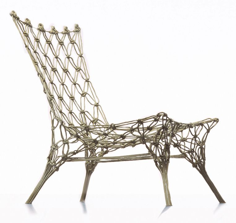 Knotted Chair uit 1996. Beeld