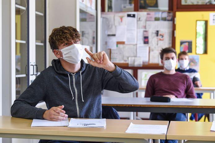 Het COV heeft duidelijk laten opnemen dat ook de risicoanalyse voor elke school cruciaal zal blijven op elk niveau van de pandemie.