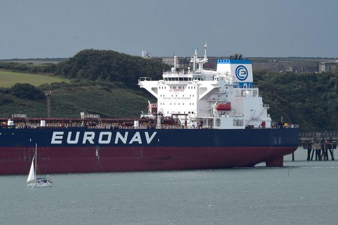 Archiefbeeld van een tanker van rederij Euronav.