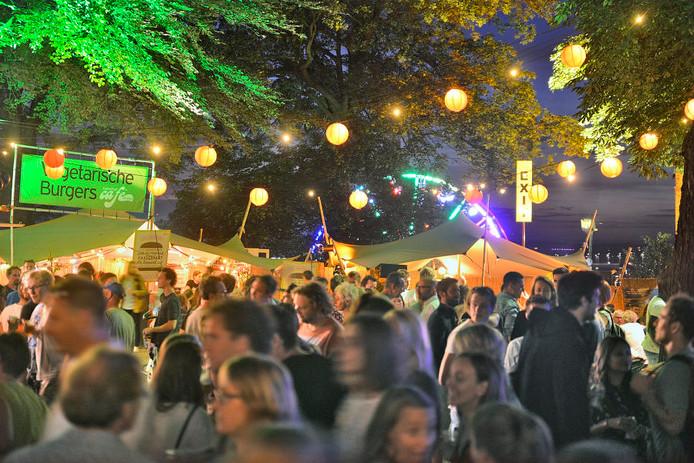 Eén van de locaties van de jaarlijkse Vierdaagsefeesten.