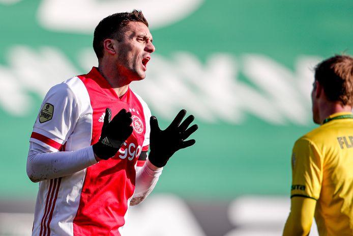 Dusan Tadic gaf pas een assist in 2021.