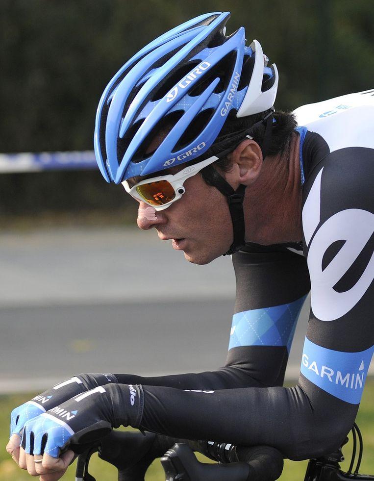 David Millar eindigde tweede. Beeld AFP