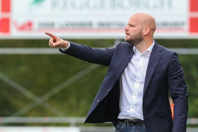 Jurjan Wouda is sinds dit seizoen hoofdtrainer van Excelsior'31.