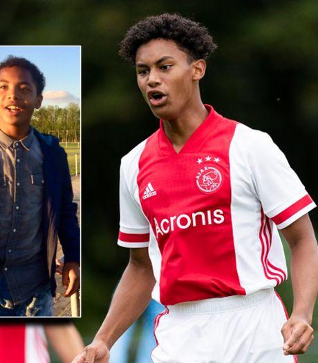 Auto van verongelukt Ajax-talent Noah (16) en zijn broer Isay (18) raakte waarschijnlijk in een slip