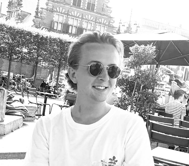 Daan Vellema (21) - Student politicologie aan de UvA - Amsterdam-Centrum. Beeld -