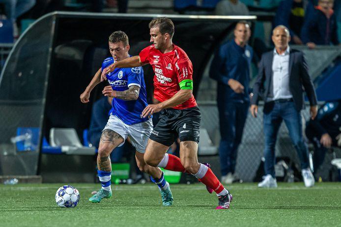 Robin van der Meer draagt dit seizoen de aanvoerdersband bij Helmond Sport: 'Ik ben sowieso niet bang om mijn mond open te trekken'
