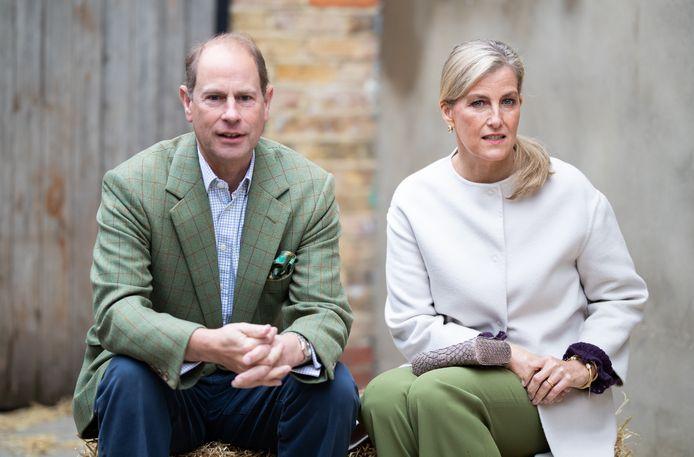 Prins Edward, Earl of Wessex, en zijn echtgenote Sophie, Countess of Wessex.