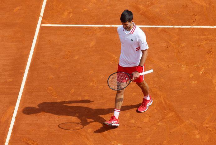 Battu pour la première fois cette saison, Novak Djokovic ne se cherche pas d'excuses.