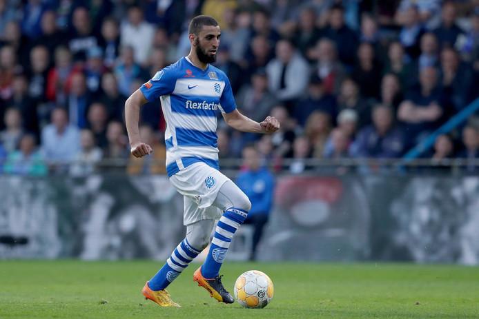 De Graafschap-voetballer Youssef El Jebli.