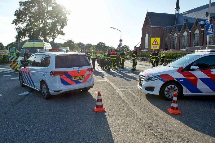 Ernstig ongerval op Scheldeweg in Hoogerheide.