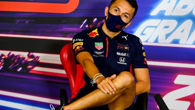 """Alexander Albon over nieuwe bolide van Red Bull: """"De foutjes zijn eruit"""""""
