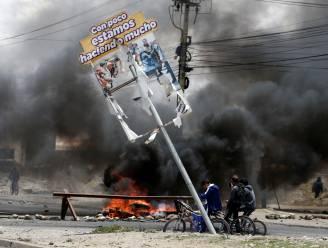 Minstens drie doden bij relletjes in Bolivia