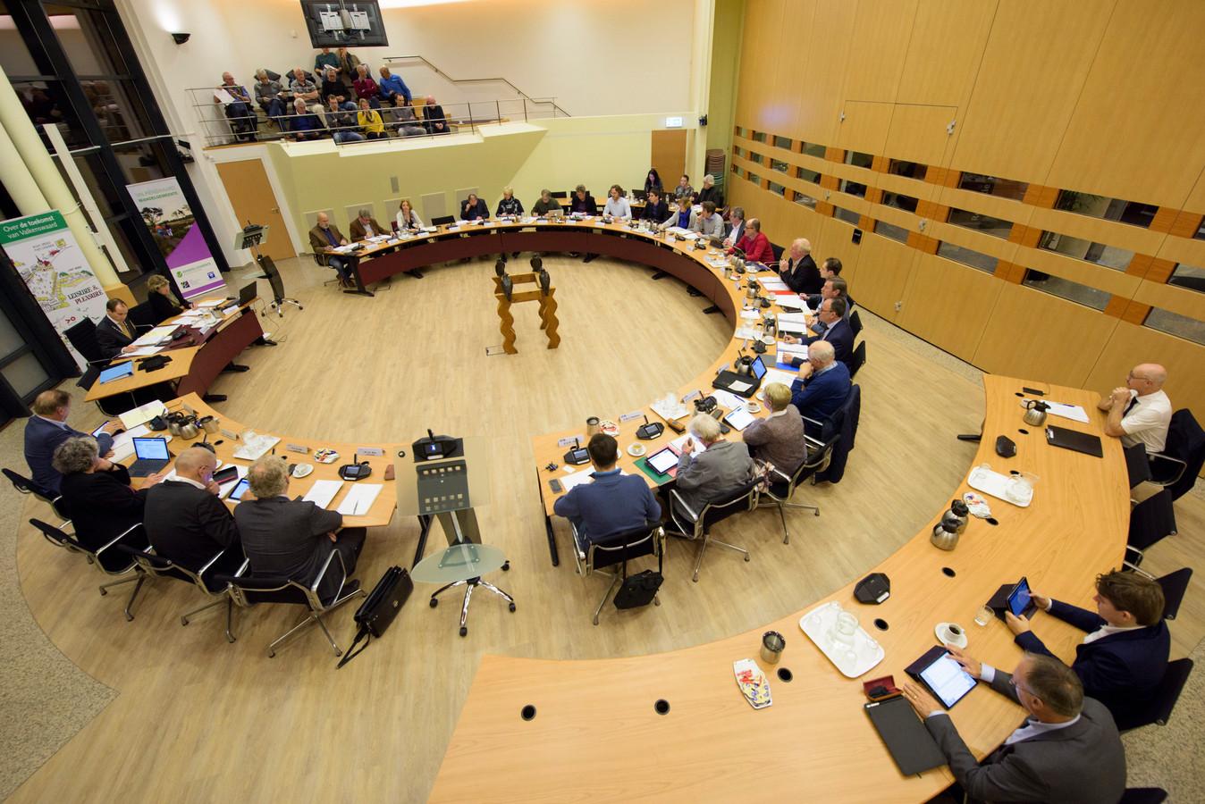 Raadsvergadering in Valkenswaard (archieffoto).