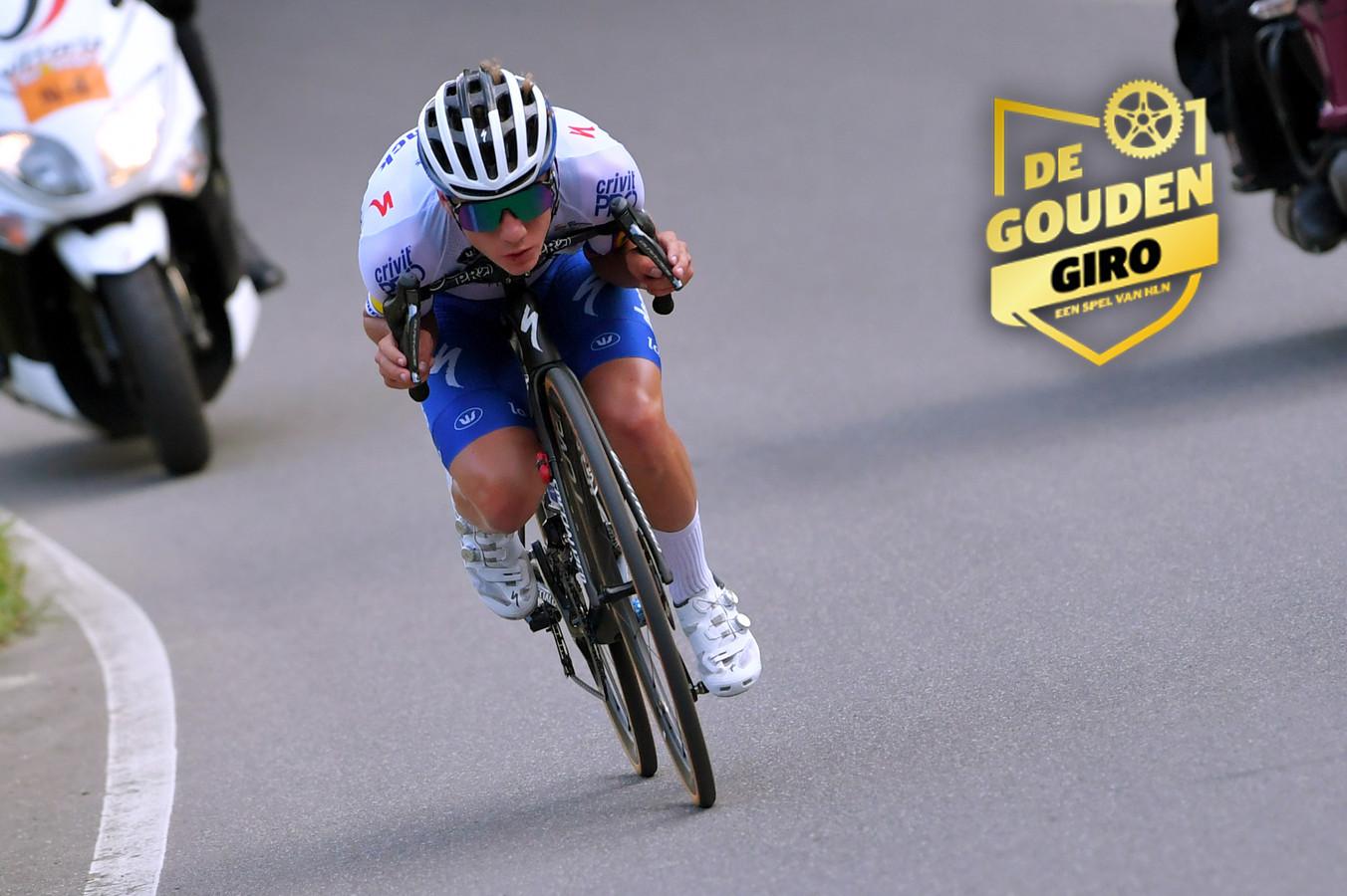 Remco Evenepoel maakt in de Giro zijn debuut in een grote ronde.