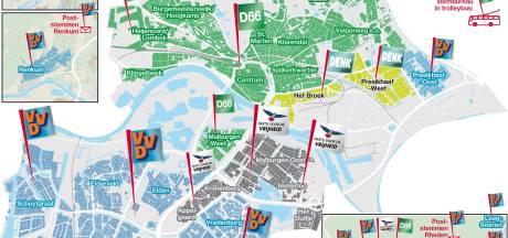 Zo stemde Arnhem: Kaag-effect in Arnhem-Noord, ruk naar rechts in Arnhem-Zuid