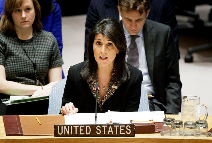 Nikki Haley, ambassadrice américaine auprès de l'ONU