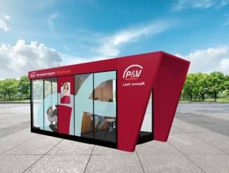 Pilootproject in verzekeringen: P&V Planhuis strijkt met mobiele unit neer aan Vlassenhout