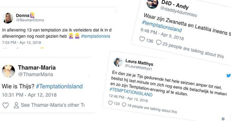 Tweets  Temptation Island
