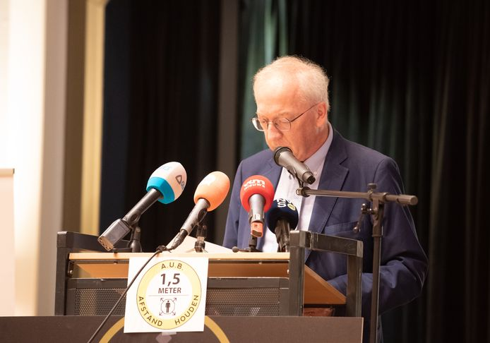 Burgemeester Marnic De Meulemeester: niet verantwoordelijk voor dodelijk ongeval.