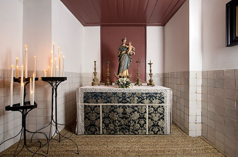 De Mariakapel in het museum Ons' Lieve Heer op Solder.  Beeld Arjan Bronkhorst