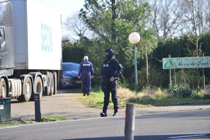Drugslab ontmandeld in Neerkant.