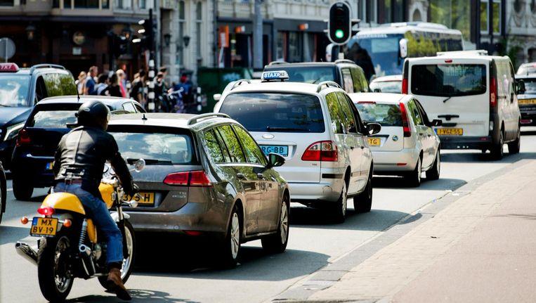 In de hele Europese Unie stierven in 2015 ongeveer 26.100 personen in het verkeer. Beeld anp
