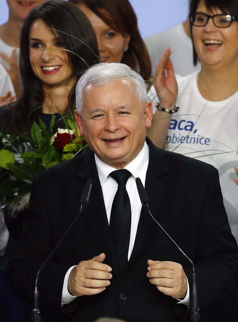 Jaroslaw Kaczynski Beeld reuters