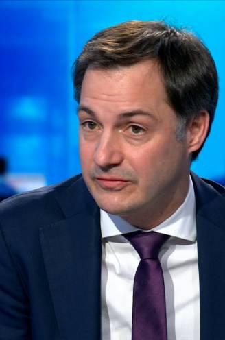 """Premier De Croo: """"Er zullen grenscontroles zijn, maar we kunnen niet elke auto tegenhouden"""""""
