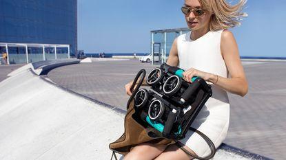 NINA zomert: de kleinste buggy ter wereld wordt handbagage