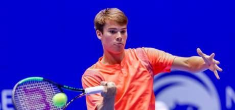 Eerste toernooizege van tennissers Ryan Nijboer is dichtbij, dat kan niet anders