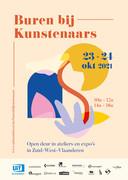 de affiche van Buren bij Kunstenaars