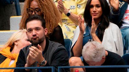 Het mocht niet baten: Meghan Markle ziet vriendin Serena Williams finale verliezen