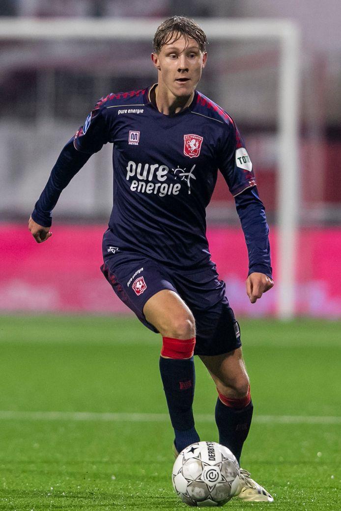 FC Twente-speler Jesse Bosch.   during the match Emmen - Twente