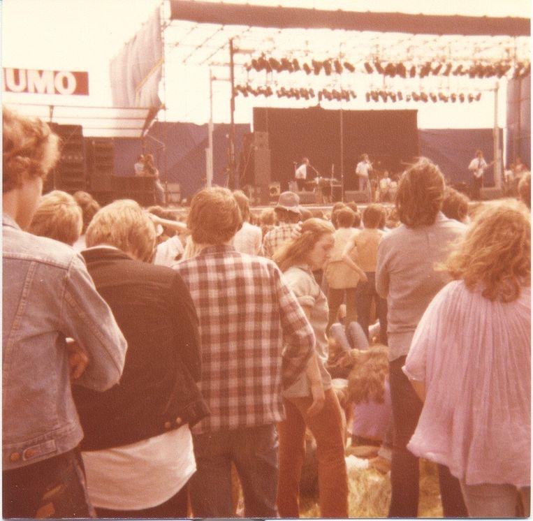 Raymond van het Groenewoud & de Centimeters in 1979.  Beeld Rens Klaasse