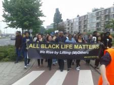 Protestmars door Schiedam na dood Mitchel Winters