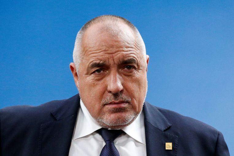 De Bulgaarse premier Boyko Borissov. Beeld REUTERS